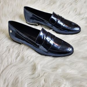 Calvin Klein Celia Patent Leather Penny Loafer